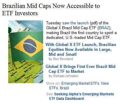 Brazilian Mid Cap ETF