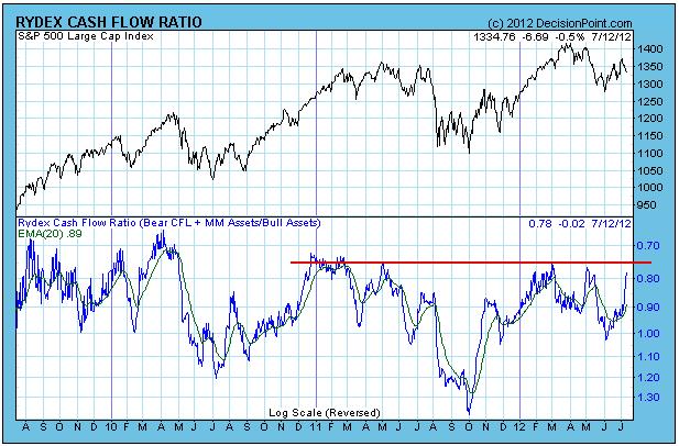 Rydex Cash Flow Ratio